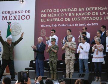 Cede AMLO a amenazas de Trump: cerrará México su frontera sur a migrantes