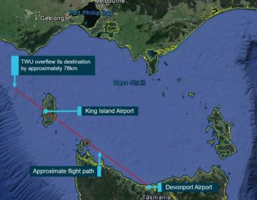 Piloto se queda dormido durante un vuelo y se desvía 77 kilómetros de su ruta