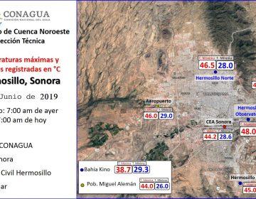 Más caliente que el Sahara: temperatura en Sonora rompe récord mundial al llegar a 48 grados