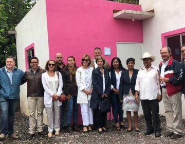 Entregan en la Mixteca poblana viviendas a damnificados del sismo 19s