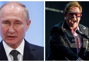 Putin acusa imposición de la diversidad sexual y de género; Elton John lo tacha de hipócrita