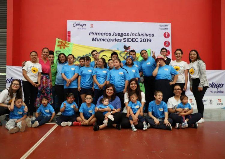 Realizan Juegos Inclusivos en Celaya; participan 300 niños con discapacidad