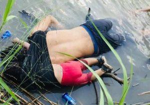 Padre e hija mueren ahogados al intentar cruzar el río Bravo y llegar a EU