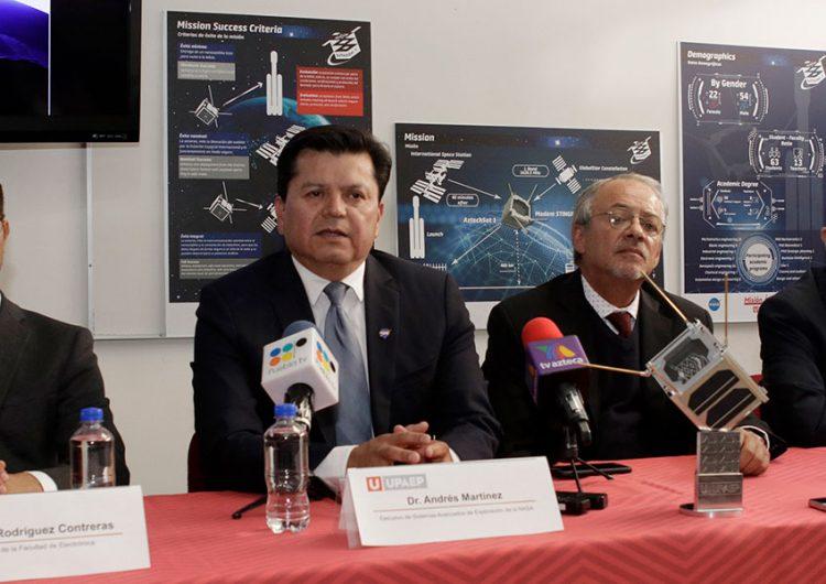 Upaep lanzara nanosatélite al espacio en octubre