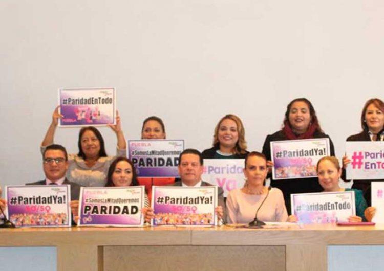 Congreso poblano aprueba decreto de paridad de género