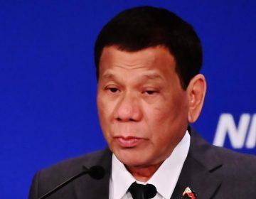 """El presidente de Filipinas, Rodrigo Duterte, dice que fue gay, """"pero me curé"""""""