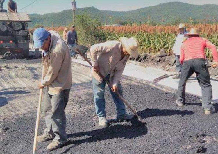Avanza rehabilitación de rutas de evacuación en comunidades cercanas al Popocatépetl