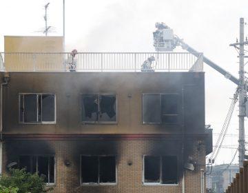 """""""Van a morir"""": Sujeto provoca incendio en estudio de animación en Japón y deja al menos 33 muertos"""