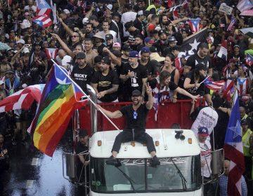 Políticos, cantantes y actores se unen para exigir la renuncia del gobernador de Puerto Rico