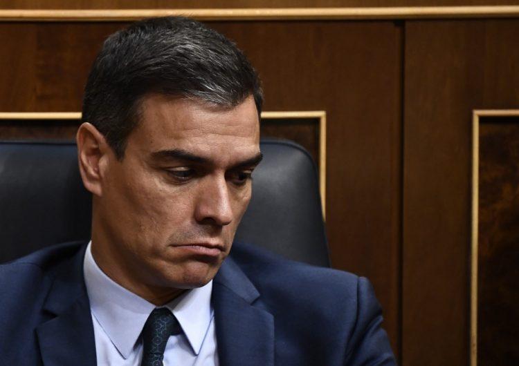 Fracasa de nuevo la investidura de Sánchez como presidente del gobierno español