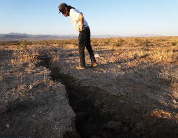 Potentes sismos en California abrieron una grieta en el desierto