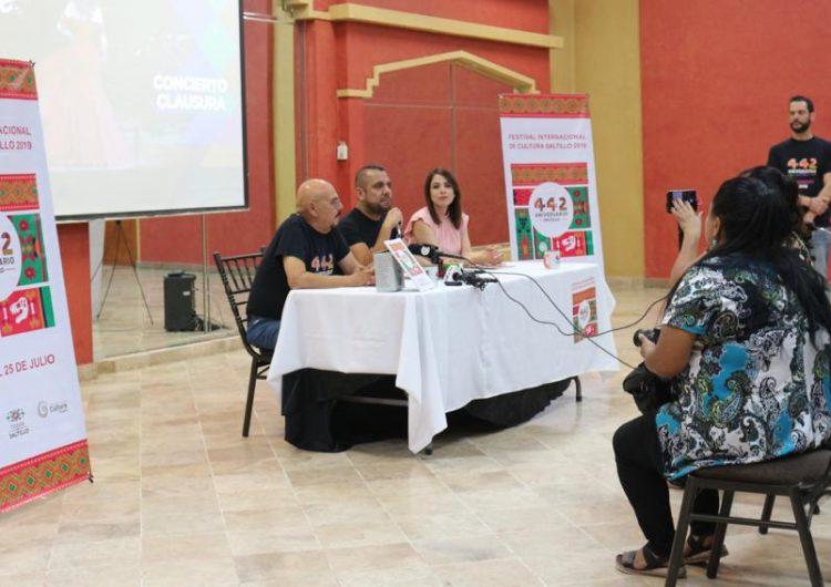 Saltillo festeja sus 442 años con gran evento cultural