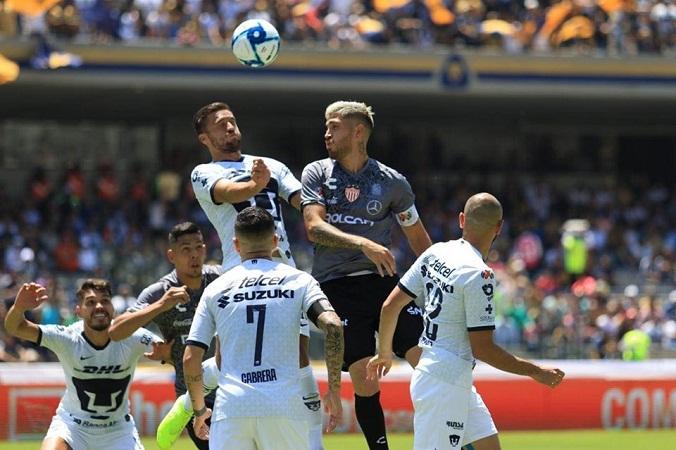 Pumas liga su segunda victoria y derrota al Necaxa