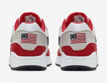 Qué es la bandera Betsy Ross de EU y por qué Nike retiró unos tenis que la tenían