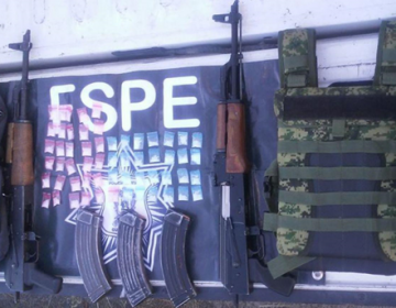 "Detienen a dos sujetos en Silao por portación de armas de ""alto poder"""