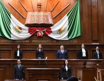 Clausura Congreso Estatal periodo ordinario de sesiones