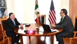 Pompeo reconoce acciones de México ante migración y acuerda con…