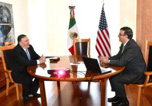 Pompeo reconoce acciones de México ante migración y acuerda con Ebrard extender plan por 45 días