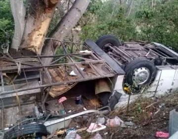Fiscalía de Nayarit llevará la investigación de accidente de autobús en Compostela