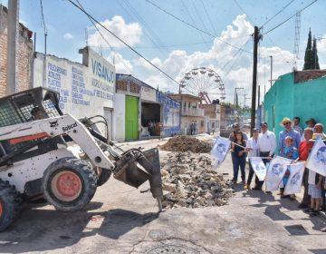 Puso en marcha Noel Mata nuevos proyectos de infraestructura