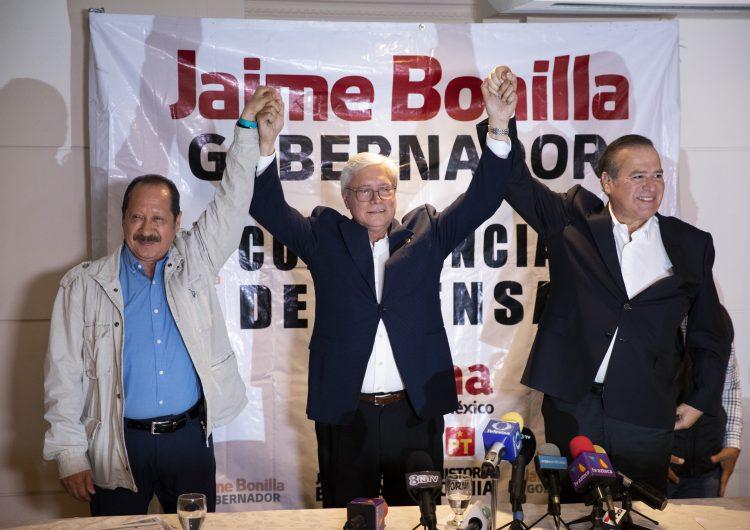 El gabinete de Bonilla