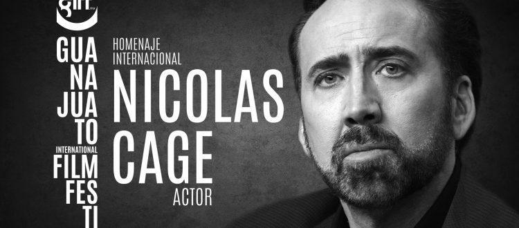 Nicolas Cage se presentará en el Festival Internacional de Cine Guanajuato