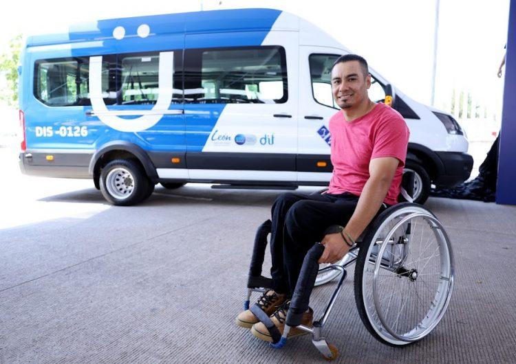 Inauguran red de transporte incluyente en León