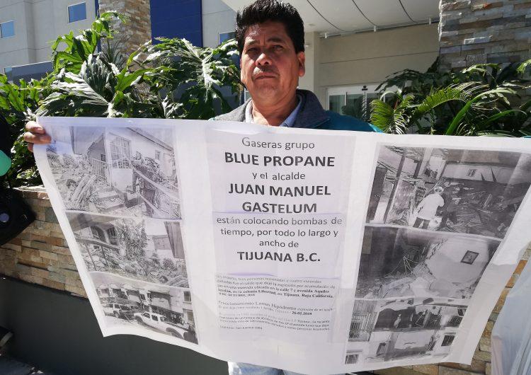 Gobiernos de Tijuana y BC amparan ilegalidad de Blue Propane, acusan colonos