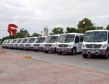 Inician operaciones 50 nuevos camiones urbanos en Aguascalientes