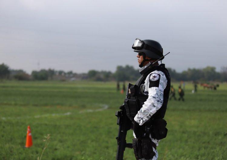 Enfrentamiento armado deja a elemento de la Guardia Nacional herido