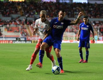 Necaxa empata sin goles ante Cruz Azul en debut de liga