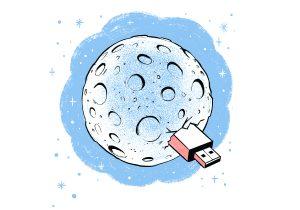 Archivar información en la luna y en el mar
