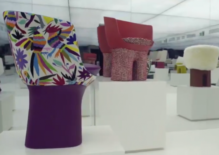 México protesta por sillón con diseños indígenas de Louis Vuitton que cuesta 18,200 dólares
