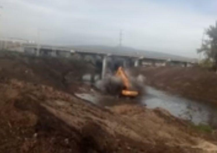 Video muestra momento en que ducto de gas explota en Celaya