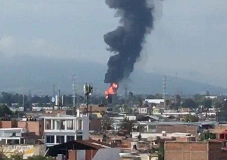 Explota ducto de Pemex en Celaya