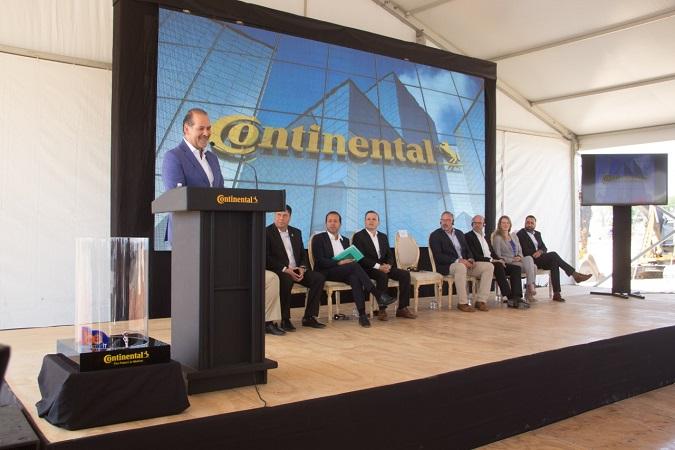 Inicia construcción de planta Continental en Aguascalientes