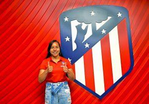 La mexicana Charlyn Corral, el nuevo fichaje del Atlético de Madrid