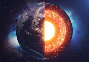 El núcleo de la Tierra ha filtrado material al manto durante más de 2,500 años: estudio