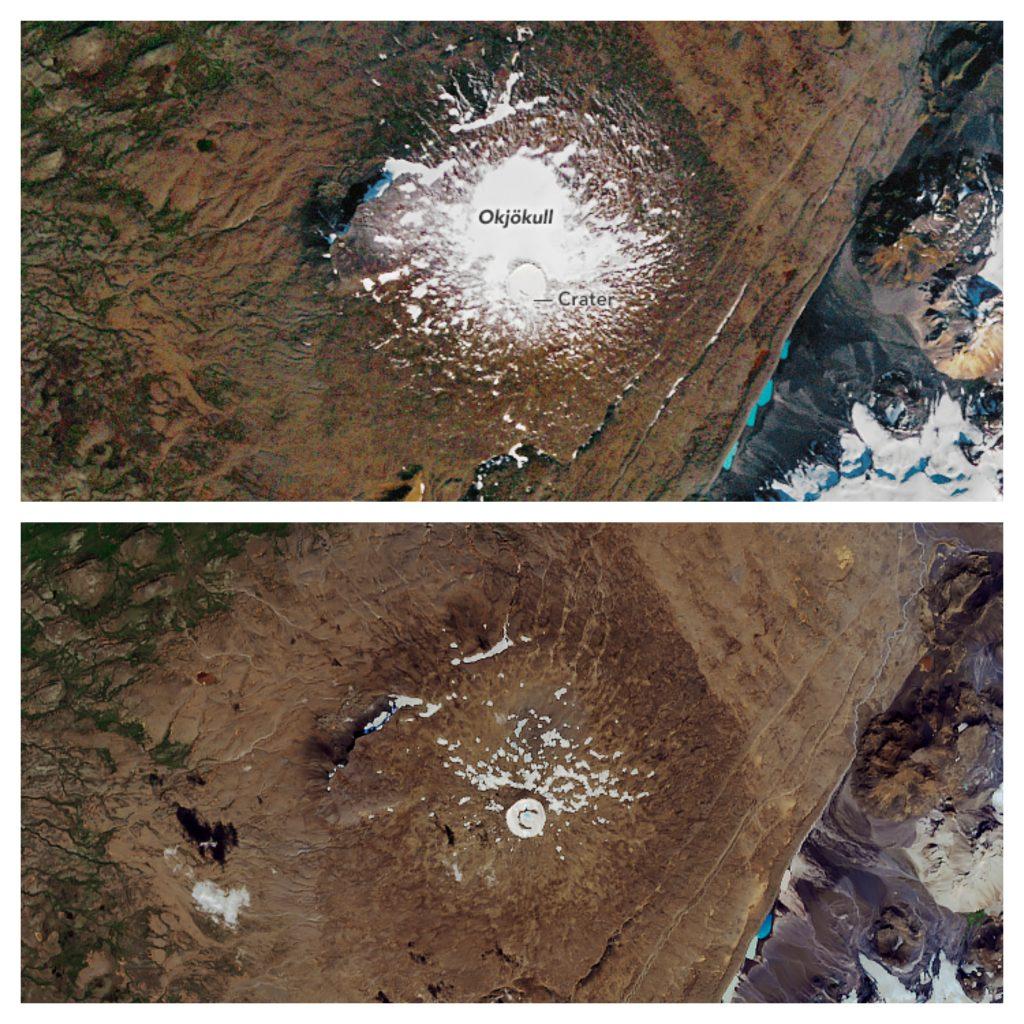 NASA-glaciar-ok-Islandia