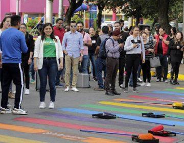 Defiende alcaldesa de Puebla paso de cebra LGBT