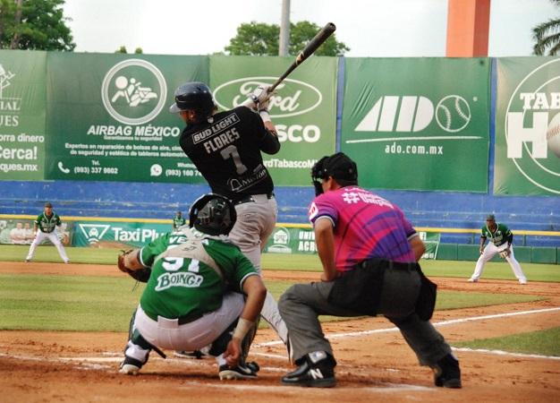 Rescata Rieleros el último partido de la serie contra Tabasco