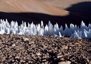 Extrañas dagas de hielo albergan vida en uno de los medios ambientes más extremos de la Tierra