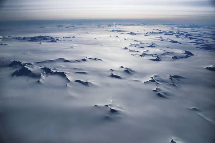 Una nevada artificial podría evitar el colapso de la capa de hielo de la Antártida