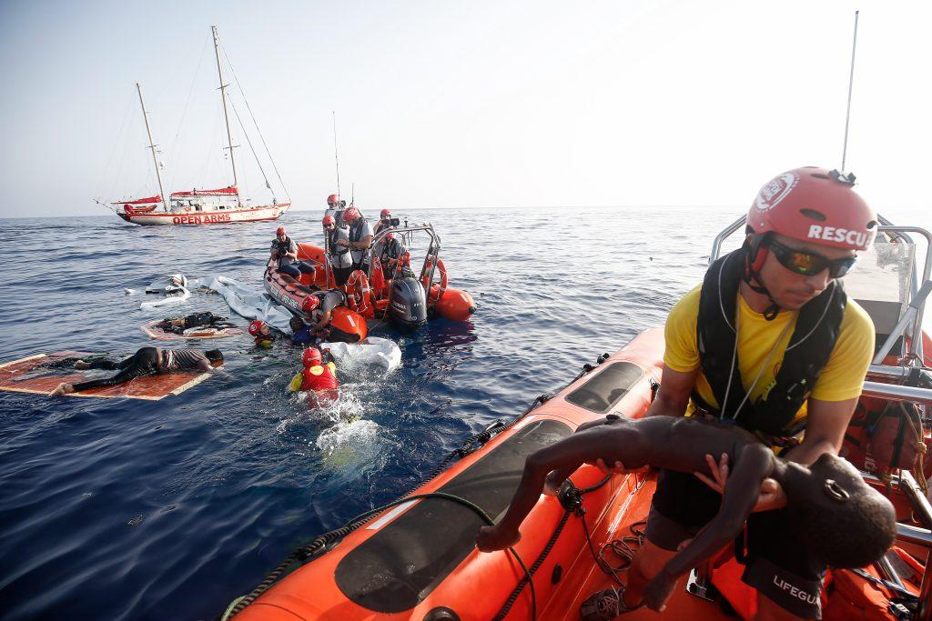 España-Malta-Mediterraneo-Migrantes-Open-Arms-Italia-refugiados