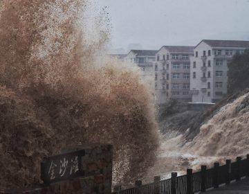 Tifón Lekima deja 18 muertos y 14 desaparecidos en China