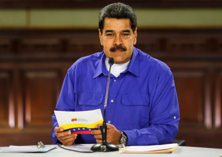 Hay contacto con EU, pero si nos agreden respondemos: Maduro