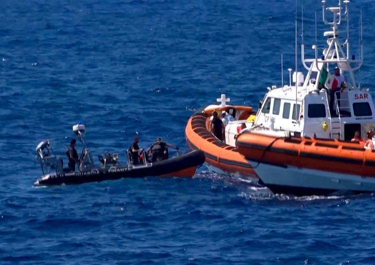 Italia-Europa-Migrantes-Refugiados-rescate-Open Arms-ONG-Lampedusa-Salvini-España