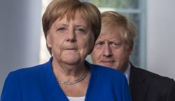 Boris Johnson se reúne con Angela Merkel para discutir el…