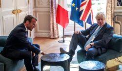 Macron le advierte a Boris Johnson que no puede haber…