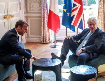 Macron le advierte a Boris Johnson que no puede haber un nuevo acuerdo en el Brexit